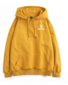 Bezateli New Gen yellow fleece hoodie